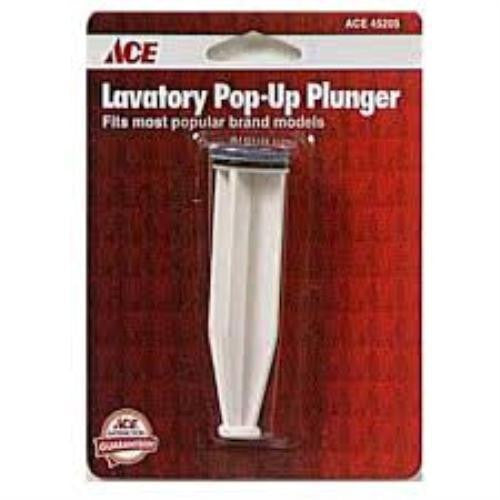 Ace Chrome Lavatory Sink Pop Up Plunger,  45205