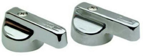BrassCraft Metal Canopy Chrome Lavatory/Sink Handles Streamway 1 pair #SH3058 - Jenco Wholesale