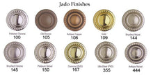 "Load image into Gallery viewer, Jado Classic Victorian Diamond 18"" Towel Bar 508460.167 - Jenco Wholesale"