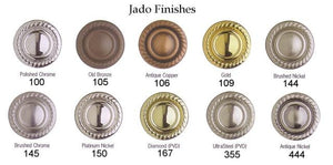 "Jado Classic Victorian Diamond 18"" Towel Bar 508460.167 - Jenco Wholesale"