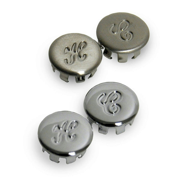 Danco Chrome/Brushed Nickel  Hot & Cold Buttons for Glacier Bay #13025 - Jenco Wholesale