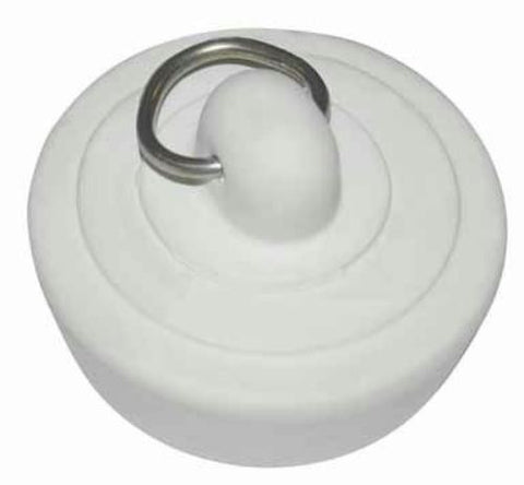 "Ace Basin/Bath Stopper, 1-3/8"", Rubber, #40176 - Jenco Wholesale"