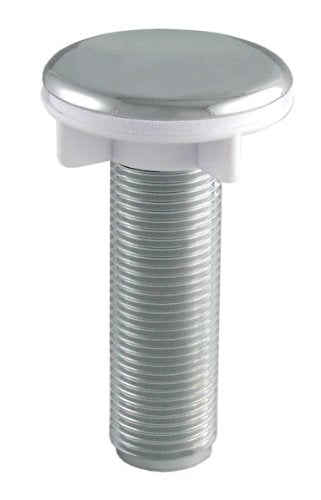 LDR 551 6415CP Faucet Hole Cover - 1/2-Inch Threaded Shank, Chrome - Jenco Wholesale