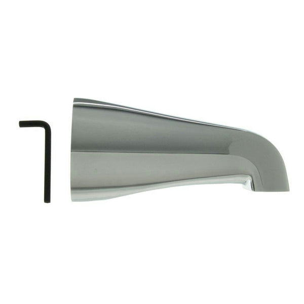 "Danco 5"" Chrome Slip-On Tub Spout w/o Diverter  #89162 - Jenco Wholesale"