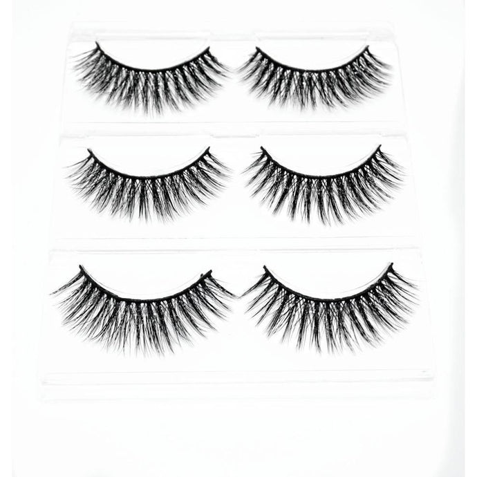 3D MINK 3 PACK - EK LASHES