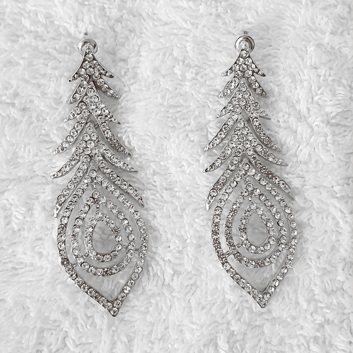 PENNY CRYSTAL EARRINGS - EK LASHES