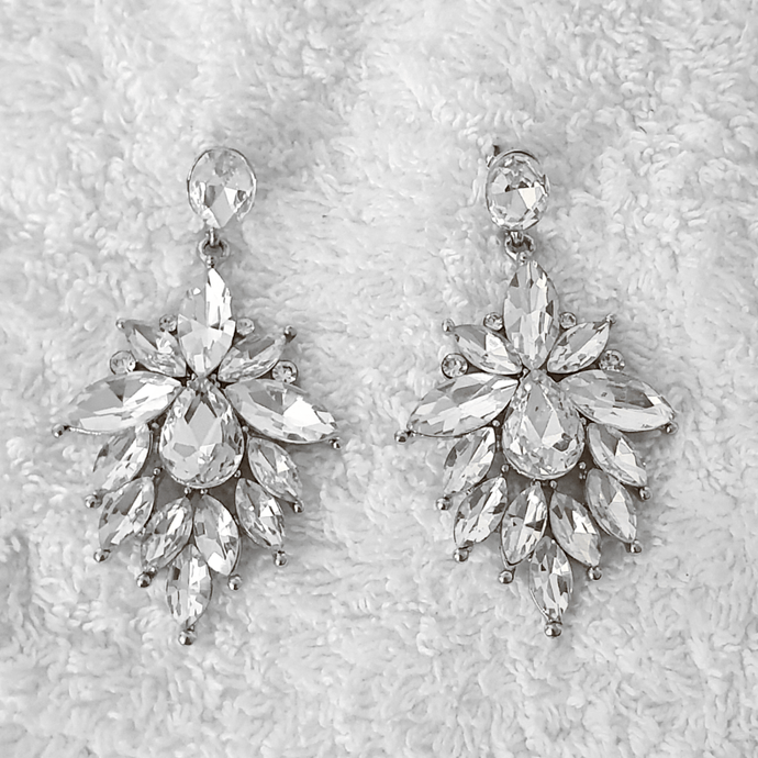 STELLA CRYSTAL EARRINGS - EK LASHES