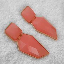 CHRISSY EARRINGS- PEACH - EK LASHES