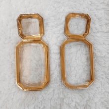 BELLE EARRINGS- CLEAR - EK LASHES