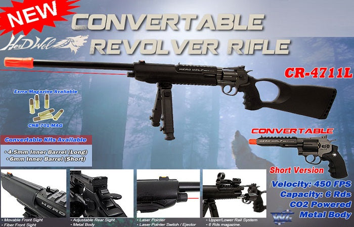 Herd Wolf Revolver Rifle