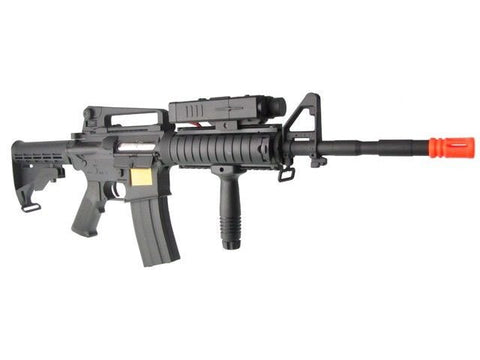 P-Force M4 Full Metal Semi and Fully Automatic Air Soft Rifle for $1.99 at Airsoft Solutions