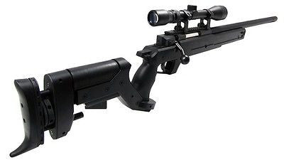 Well AWM APS2 Spring Bolt Action Air Soft Sniper Rifle with Scope for $1.74 at Airsoft Solutions
