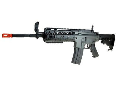 JG Airsoft M4 S-System Full Metal Gearbox AEG Rifle with Integrated RIS for $1.84 at Airsoft Solutions
