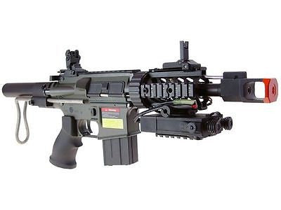 JG M4 CQP Fully Automatic Metal GB AEG Air Soft Rifle Includes 5,000 .20g BB's for $2.39 at Airsoft Solutions