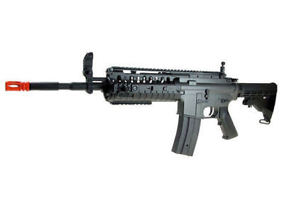 GE JG M4 RIS Metal Gearbox AEG Electric Air Soft Rifle with Gun Rail System for $1.84 at Airsoft Solutions