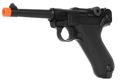 "WE Full Metal Airsoft Luger P08 Pistol WWII 4"" SHORT Model Airsoft Pistol Gun for $1.49 at Airsoft Solutions"
