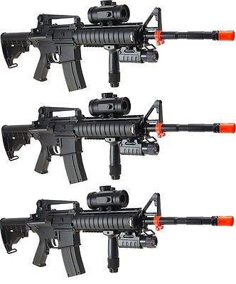 Double Eagle M83A2 Electric AEG Semi Full Auto Air Soft Assault Rifles Lot of 3 for $2.29 at Airsoft Solutions