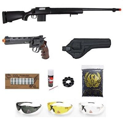 WELL Bolt Action Sniper Airsoft Rifle WG CO2 Sport Airsoft Revolver for $3.49 at Airsoft Solutions