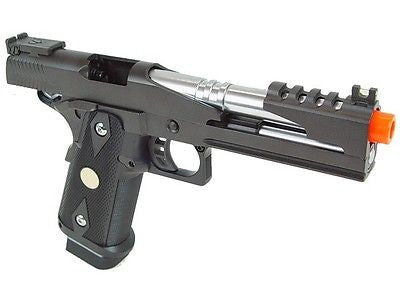 WE Hi-Capa 5.1 V4 Full Metal Semi Auto Green Gas Blowback Pistol for $1.29 at Airsoft Solutions