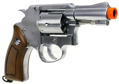 Sport 731 Silver CO2 Air Soft Revolver for $0.99 at Airsoft Solutions