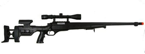 Well MB12C Heavy Spring Bolt Action Gun Airsoft Sniper Rifle with Scope for $1.59 at Airsoft Solutions