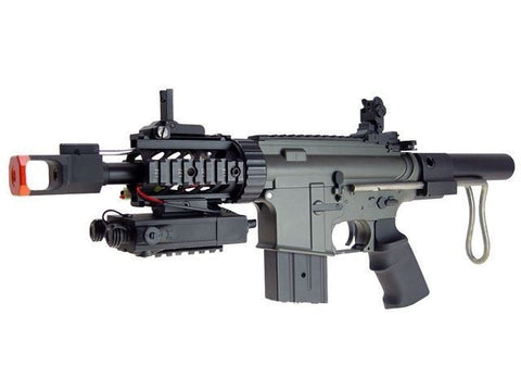 JG M4 CQB Tanker Fully Automatic AEG Metal GB Electric Airsoft Rifle for $2.19 at Airsoft Solutions