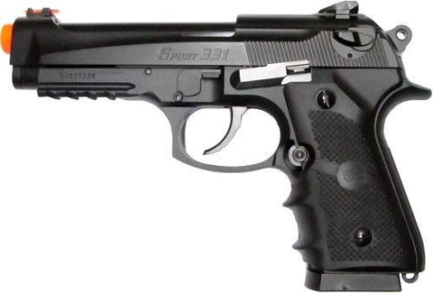 WG 4331 Sport 331 M9 Beretta Style CO2 Blowback Air Soft Gun for $0.89 at Airsoft Solutions