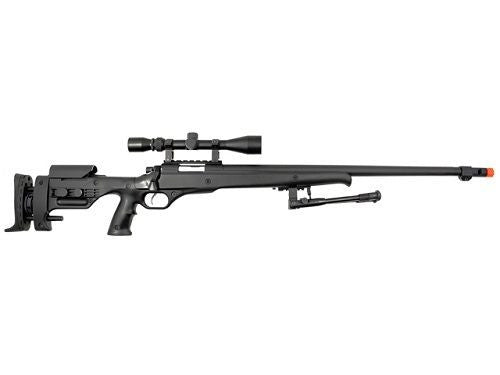 Well Spring Bolt Action Air Soft Sniper Rifle with Bi-Pod and Scope for $1.79 at Airsoft Solutions