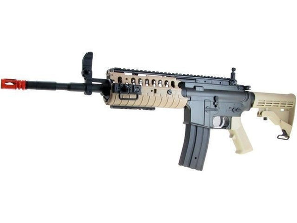 Golden Eagle Carbine M4 S-System RIS AEG Airsoft 2 x Rifle Combo Package for $3.39 at Airsoft Solutions