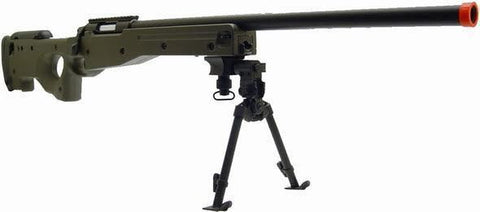 AGM L96 AWP Spring Airsoft Sniper Gun with Bipod for $1.69 at Airsoft Solutions