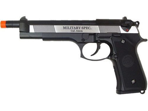 WE M92L Tactical Blowback Gas Full Metal Air Soft Pistol for $1.29 at Airsoft Solutions