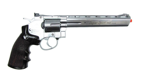 "WG Sport 8"" Series Full Metal Double Action CO2 Airsoft Revolver for $1.29 at Airsoft Solutions"