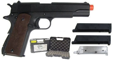 SRC SR191 Gas Blowback 1911 Airsoft Pistol Gun Case Extra Mag and EZ Loader for $1.19 at Airsoft Solutions