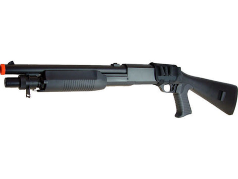 Double Eagle 799 Tri-Burst Airsoft Pump Action Shotgun for $0.89 at Airsoft Solutions