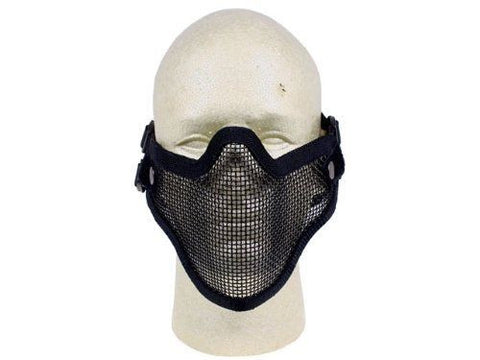 P-Force Airsoft Adjustable Mesh Lower Face Mask for $0.24 at Airsoft Solutions