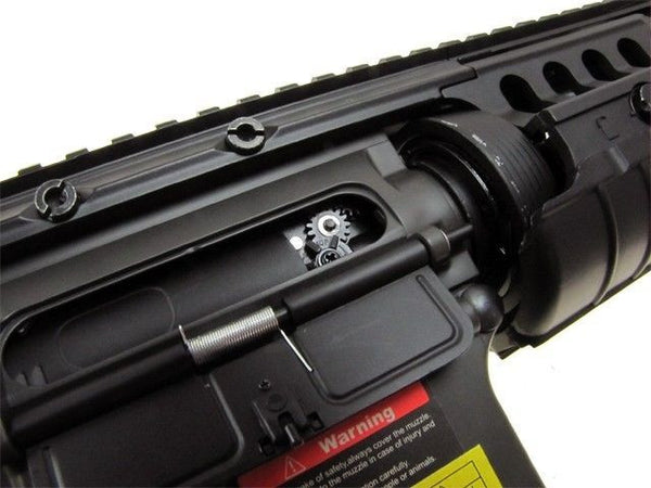 GE M4 A1 S-System Full Auto AEG Metal Gear Airsoft Rifle Includes 6000 .20g BB's for $1.89 at Airsoft Solutions