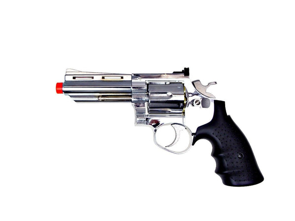 HFC Green Gas Powered Silver Air Soft Revolver for $0.69 at Airsoft Solutions
