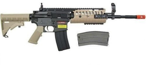 Golden Eagle JG M4 Carbine S-System AEG Airsoft Rifle With Extra Magazine for $1.94 at Airsoft Solutions