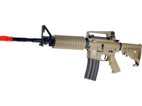 SRC Sport M4A1 Semi and Fully Automatic Metal Gear Electric AEG Airsoft Rifle for $1.64 at Airsoft Solutions