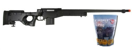 WELL L96 Heavy Single Bolt Action Spring Airsoft Sniper Rifle with 5K .20g BB's for $1.79 at Airsoft Solutions