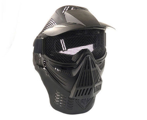 P-Force Recticular Full Face Mesh Wire Black Airsoft Mask for $0.34 at Airsoft Solutions