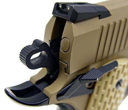 WE 1911 Dessert Warrior Full Metal Blowback Gas Airsoft Pistol for $1.29 at Airsoft Solutions