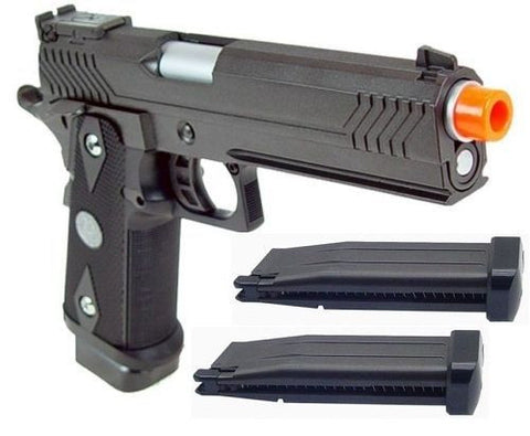 WE Hi-Capa 5.1 Expert Type Full Metal Airsoft Gas Blowback with Extra Magazine for $1.49 at Airsoft Solutions