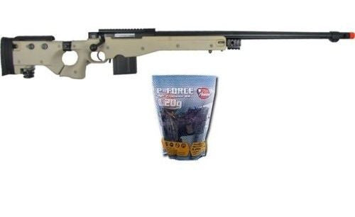 Well L96 Spring Airsoft Sniper Rifle with 5,000 .20g Airsoft BB's for $1.64 at Airsoft Solutions