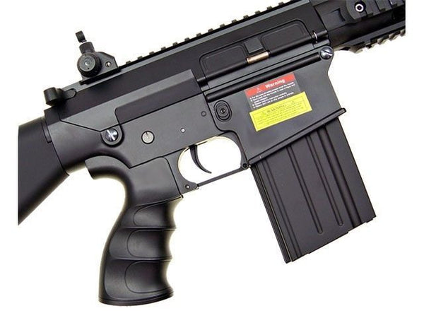 Golden Eagle SR25 Full Metal AEG Airsoft Rifle Full Stock with Battery & Charger for $2.98 at Airsoft Solutions