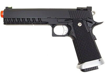 KJW KP-06 Hi-Capa Xcelerator Full Metal Gas Blowback Air Soft Pistol