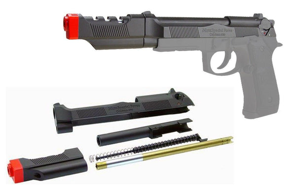 HFC GBB-199 Metal Slide & Barrel with Compensator Upgrade Kit for $0.49 at Airsoft Solutions