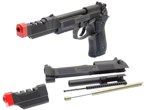 HFC GBB-199 Metal Slide & Barrel with Compensator Upgrade Kit
