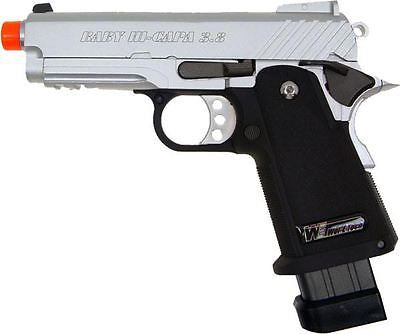 WE Baby Hi-Capa 3.8 V2 Full Metal Semi Automatic Gas Blowback Airsoft Gun