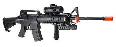 Double Eagle M83A2 M4 Style Electric Airsoft Assault Rifle